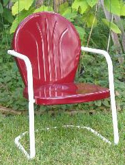 Genial Metal Lawn Chair, Tulip Chair, Shell Chair, Motel Chair, Bouncer Chair,