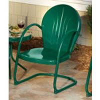 2 Green Motel Chairs $159