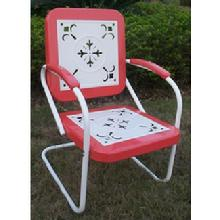 Red Retro Lawn Chair  $150 Free Shipping. Two Chairs for $279, 4 Chairs for $549hipping. Two Chairs for $239, 4 Chairs for $449