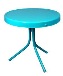 Turquoise Retro Side Table $79.95