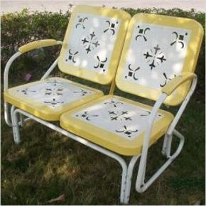Retro Glider Yelllow $235