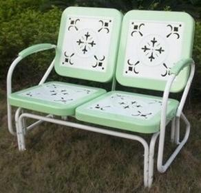 Retro Glider Mint Green $235