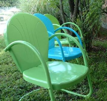 Turquoise & Lime Chairs 2 for $159
