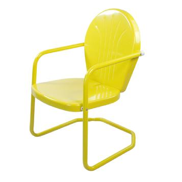 Yellow Retro Lawn Chair 2 for $169