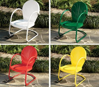 Retro Lawn Furniture- CandyBouncer.com