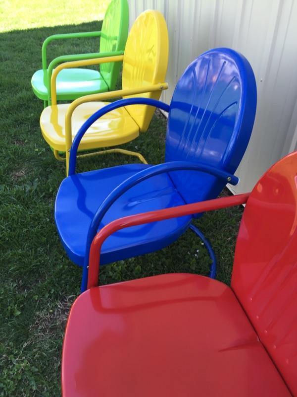 Retro Lawn Furniture
